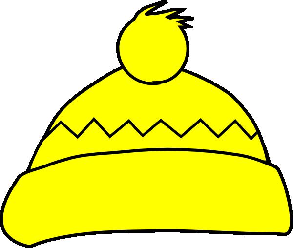 8dceec044d3 Yellow Winter Hat Clip Art at Clker.com - vector clip art online ...