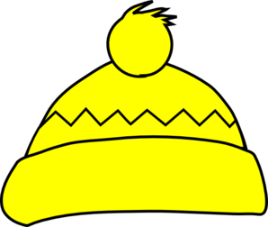 Yellow Winter Hat Clip Art