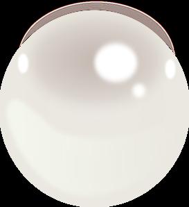 One Pearl Clip Art at Clker.com - vector clip art online ...