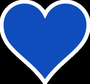 blue heart clip art at clker com vector clip art online royalty rh clker com heart clipart no background heart clipart images