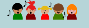 Children Choir Clip Art