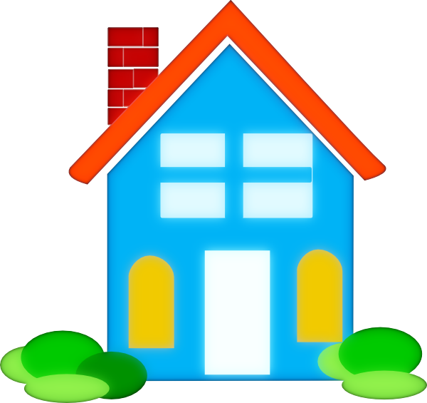 Home house clip art at vector clip art online for Real time pictures of my house