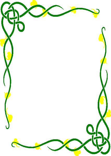 Menu Border Clip Art At Clker Com Vector Clip Art Online Royalty