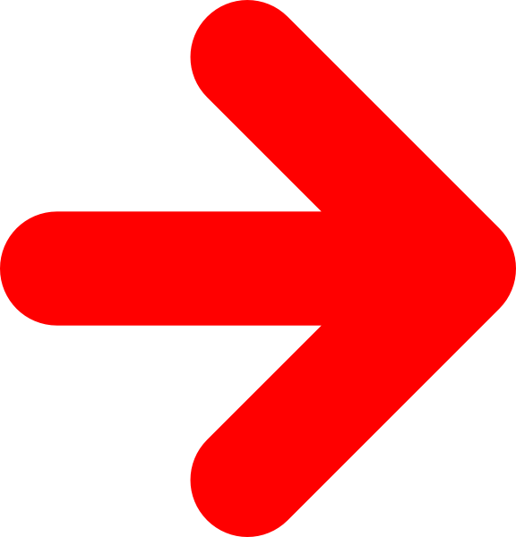 Red Right Arrow Clip Art at Clker.com  vector clip art online