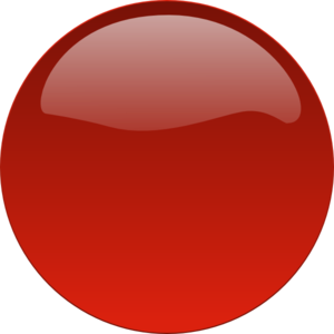 5cac6c83a04f0 Red Glossy Button No Text Clip Art at Clker.com - vector clip art ...