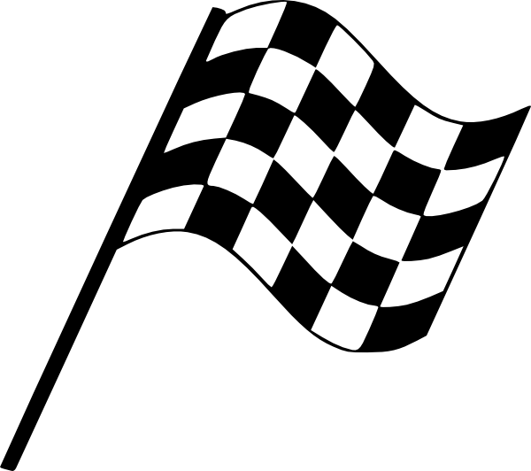 free race car flag clip art - photo #9