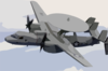 An E-2c Hawkeye Assigned To The Wallbangers Of Carrier Airborne Early Warning Squadron One One Seven (vaw-117) Clip Art