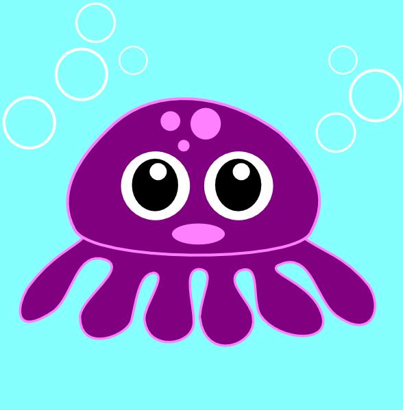 Cartoon Octopus Clip Art at Clker.com - vector clip art online ...