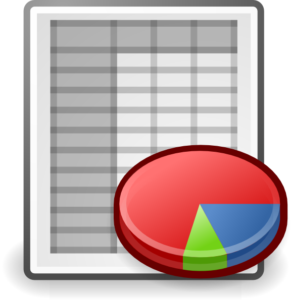 Office Spreadsheet Clip Art at Clker.com - vector clip art online ...