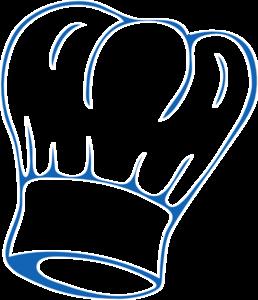 chef hat deep blue clip art at clker com vector clip art online rh clker com clipart chef hat clipart chef hat