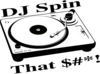 Dj Spin That Clip Art