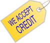We Accept Credit Clip Art