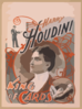 Harry Houdini, King Of Cards Clip Art