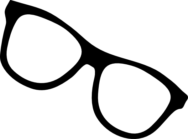 Eyeglass Frame Vector : Black Star Glasses Clip Art at Clker.com - vector clip art ...