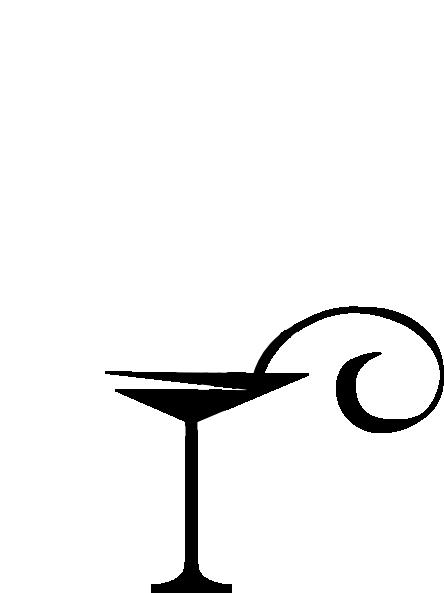 Black Martini Glass Clip Art At Clker Com Vector Clip Art Online