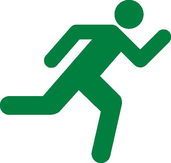 Green Runner Clip Clip Art at Clker.com - vector clip art online ...