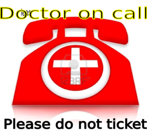 Doctor On-call Clip Art