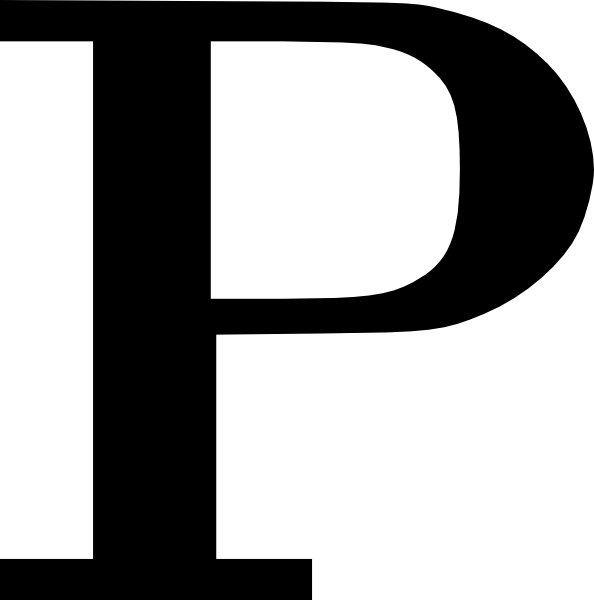 Cyrillic Letter P Clip Art at Clker.com - vector clip art ...