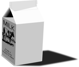 Milk Carton Clip Art