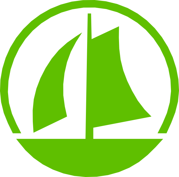 Green Sail Boat Clip Art at Clker.com - vector clip art ...