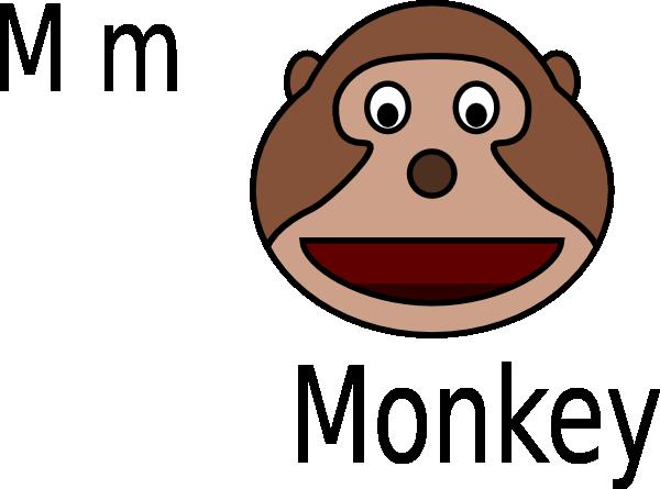 clipart monkey face - photo #36