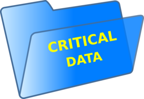 Critical Data Clip Art