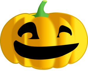 Halloween Pumpkin Dark Clip Art