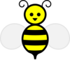 Happy Bumble Bee Clip Art