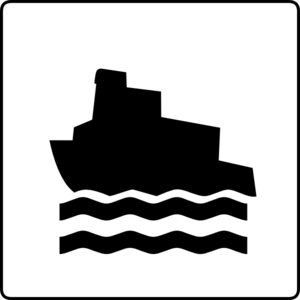 Boat Without Drop Shadow Clip Art