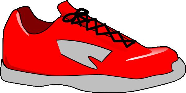 Red Shoe Clip Art at Clker.com - vector clip art online ...