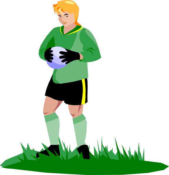 Soccer Goalie Clip Art At Clker.com
