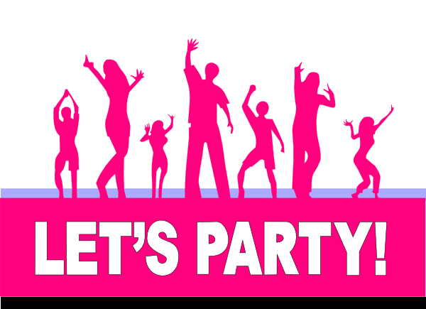 dance party clipart - photo #1