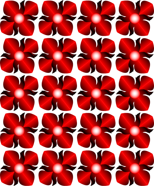 Thai Flower Pattern
