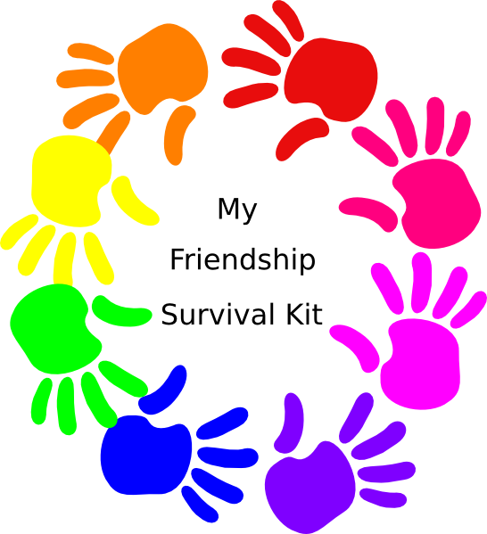 Circle Hands Friendship Survival Kit Clip Art at Clker.com - vector ...: www.clker.com/clipart-circle-hands-friendship-survival-kit.html