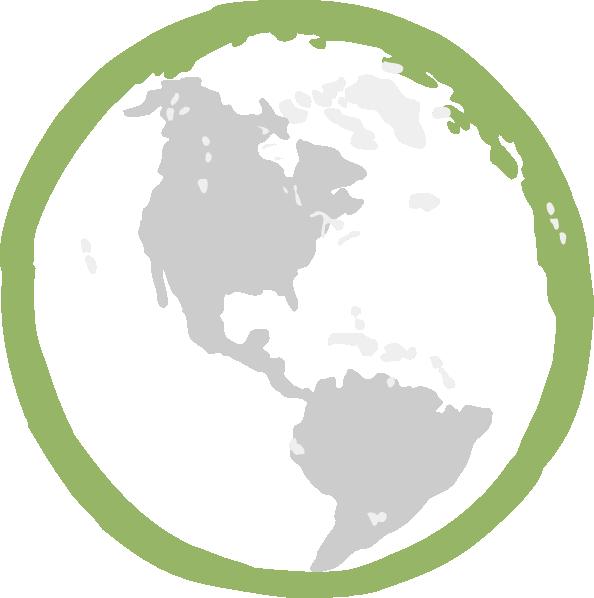 Green Earth Clip Art At Clker