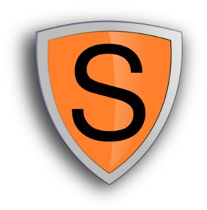 S-shield Clip Art