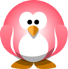 Red Penguin Clip Art