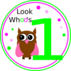 Owl Birthday Clip Art