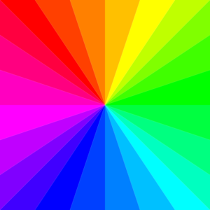 Rainbow Square Clip Art