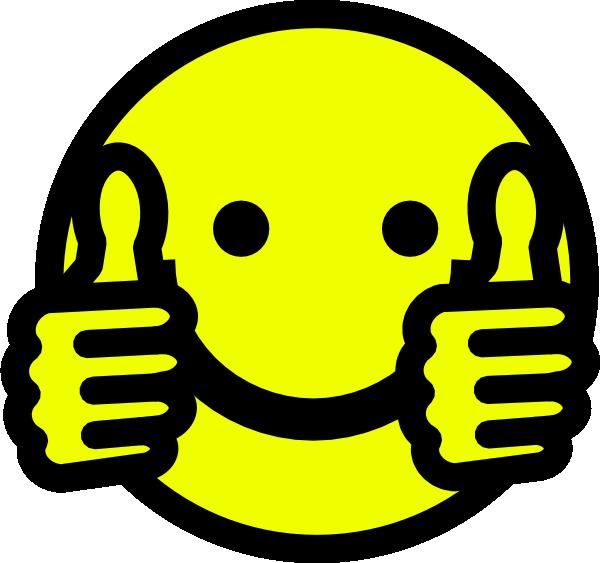 Thumbs Up Smiley Clip Art at Clker.com - vector clip art ...