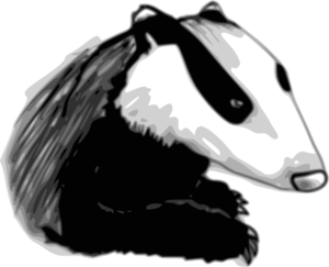 Badger Clip Art at Clker.com - vector clip art online, royalty free ...