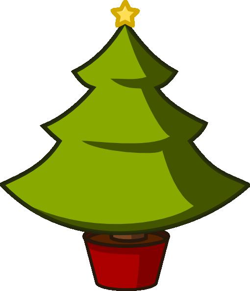 Christmas Tree Simple Clip Art at Clker.com - vector clip ...