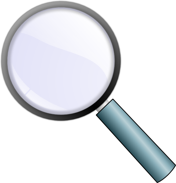 magnifying glass transparent png clip art at clker com fingerprint clip art for youth fingerprint clipart no background