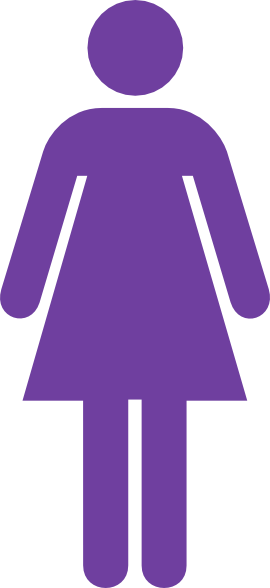 Purple Female Symbol Clip Art at Clker.com - vector clip art online ...