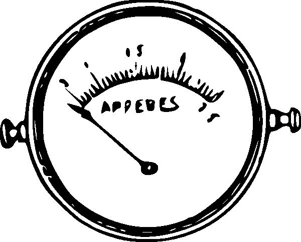 Ammeter Clip Art : Ammeter clip art at clker vector online