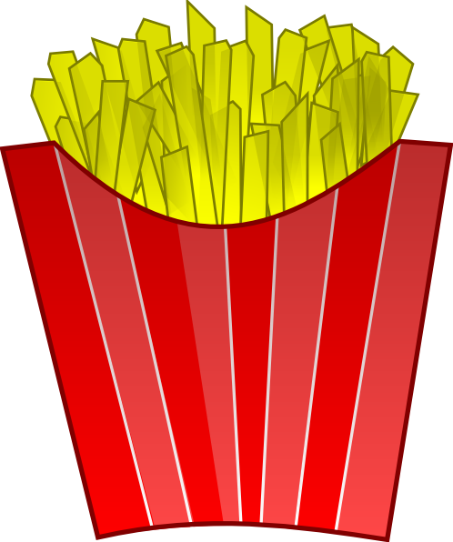 French Fries Clip Art at Clker.com - vector clip art ...