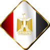 Egypt Flag Pin Clip Art