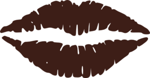 My Large Brown Lips Clip Art