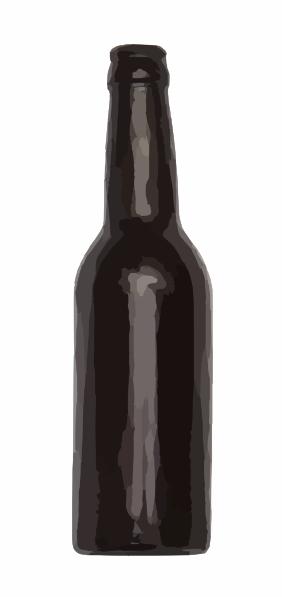 clipart sunscreen. Beer Bottle 1 clip art