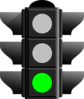 Green Traffic Light Clip Art